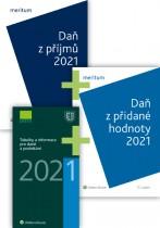 Komplet - Daně 2021 III