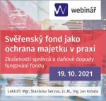 Svěřenský fond jako ochrana majetku v praxi – zkušenosti správců a daňové dopady fungování fondu (WEBINÁŘ)
