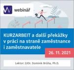 KURZARBEIT a další překážky v práci na straně zaměstnance i zaměstnavatele (WEBINÁŘ)