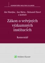 Zákon o veřejných výzkumných institucích (č. 341/2005 Sb.) - komentář