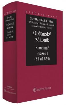 Občanský zákoník - Komentář - Svazek I (obecná část)