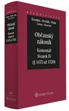 Občanský zákoník - Komentář - Svazek IV (dědické právo)