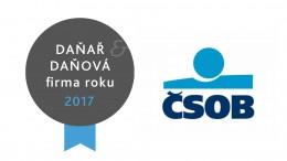 ČSOB Daňař & daňová firma roku 2017