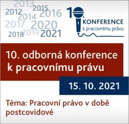 10. odborná konference k pracovnímu právu