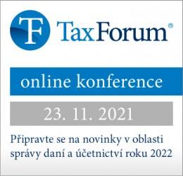 e-konference - TaxForum 2022