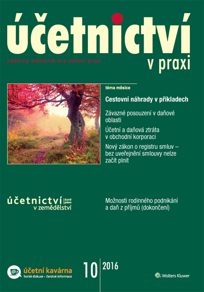 Časopis Účetnictví v praxi