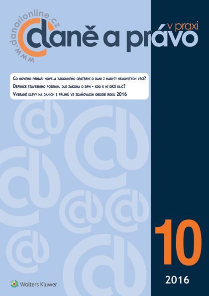 Časopis Daně a právo v praxi