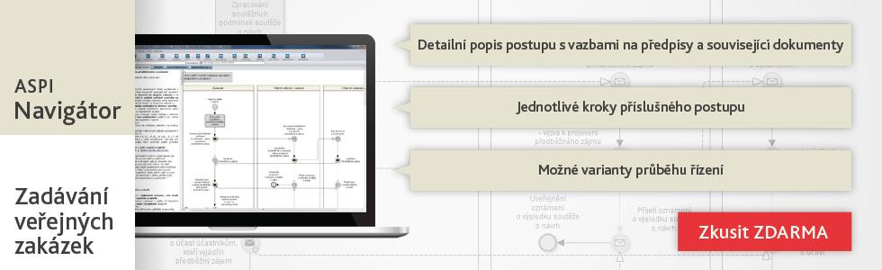ASPI navigátor zadávání veřejnýc zakázek dle zákona 134/2016 Sb.