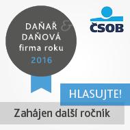 soutěž ČSOB Daňař a daňová firma roku