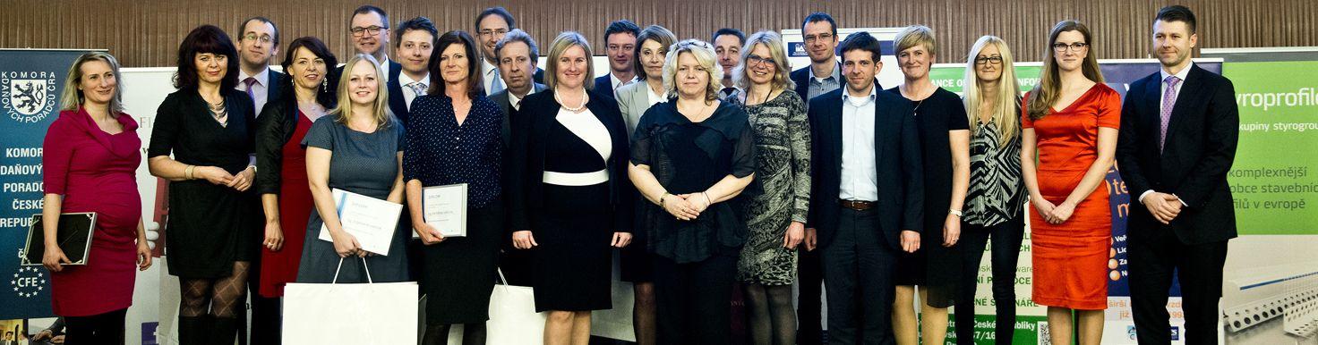 Vítězové soutěže Daňař a daňová firma roku 2016