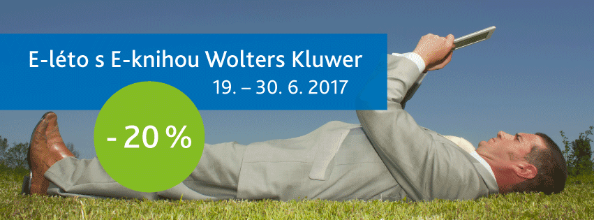 E-leto s E-knihou Wolters Kluwer